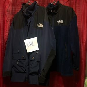 Other - VTG The North Face Windbreaker With Fleece